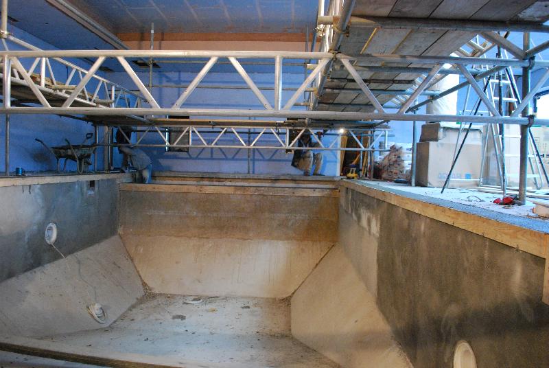 Outdoor To Indoor Pool Refurbishment Cheltenham Brookforge Swimming Pool Build