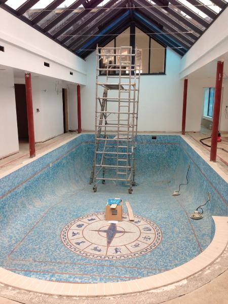 Tiling finished