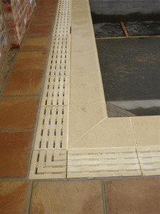 Cast Overflow Channel Grating