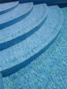 Tiled Pool Step Detail