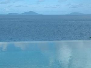 Luxury Infinity Pool in seychelles