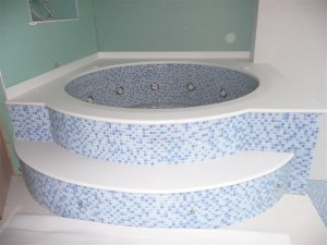 Luxury Tiled Spa
