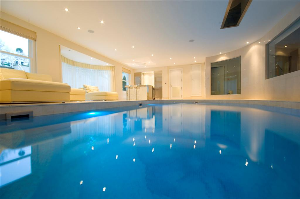 High specification basement pool alderley edge brookforge swimming pool build for Basement swimming pool construction
