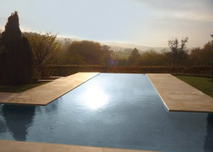 Stone Clad Luxury Infinity Pool
