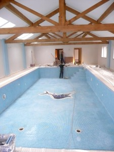 Chalet pool refurbishment