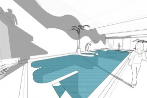 Relaxation swimming Pool Visual