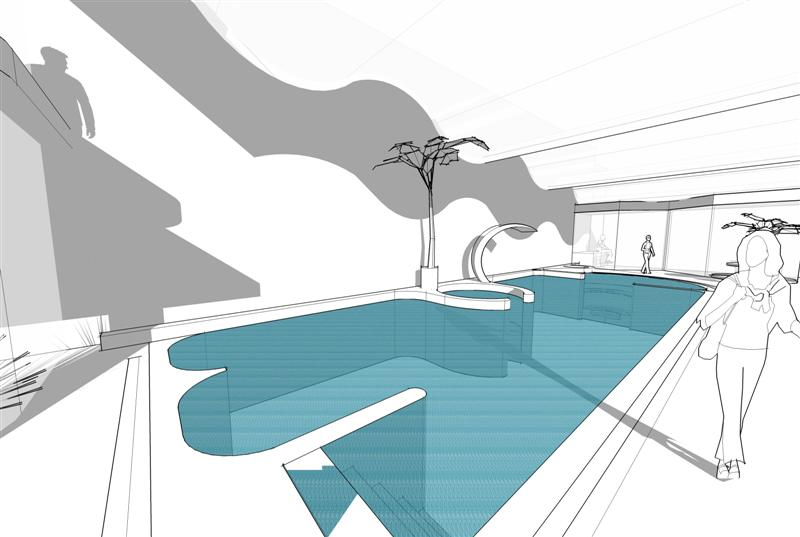 Water features archives brookforge swimming pool build for Pool design requirements
