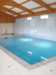 Insulated Indoor Overflow Pool