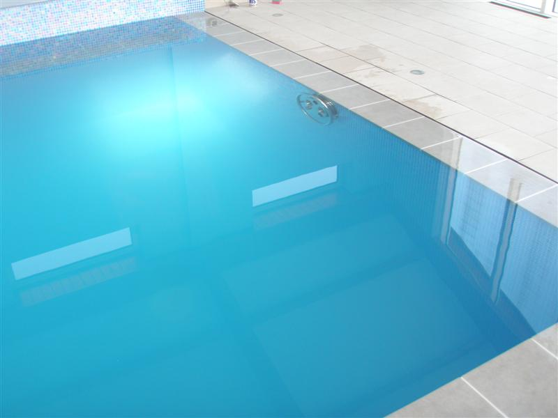 Overflow Swimming Pool Design : Overflow Pool Channel Detail
