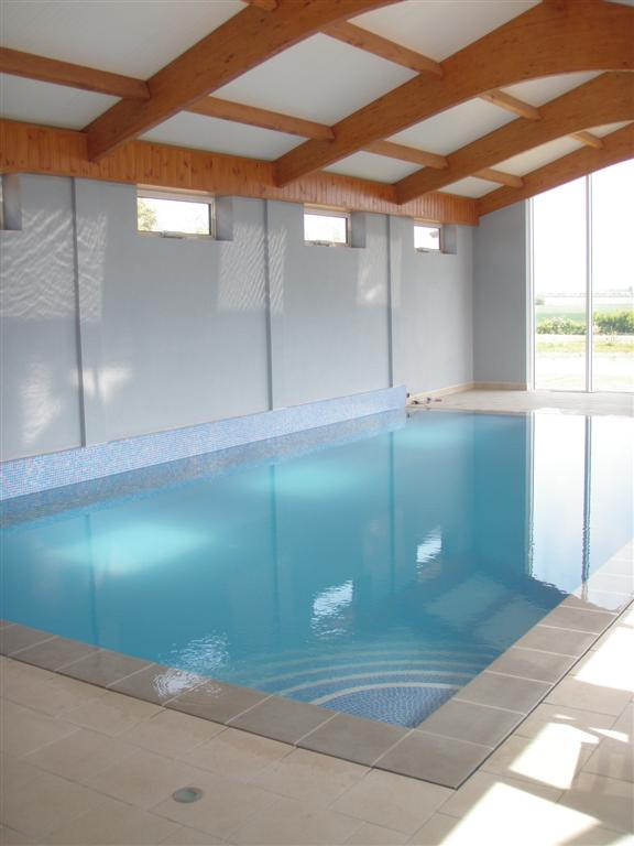 Indoor Insulated Overflow Pool Cambridgeshire Brookforge
