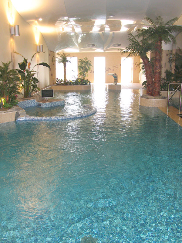 Relaxation Pool & Spa at Wellness centre