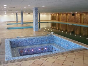 Private school swimming pool and spa