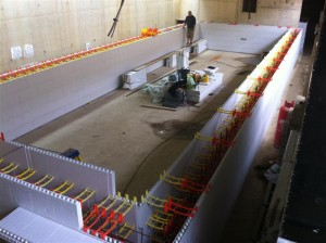Insulated Pool Wall Construction