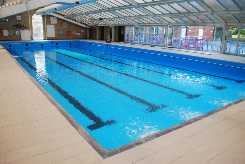 School pool being refilled after refurbishment