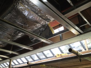 concealed pool ducting