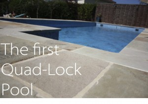 very first quad lock ICF swimming pool