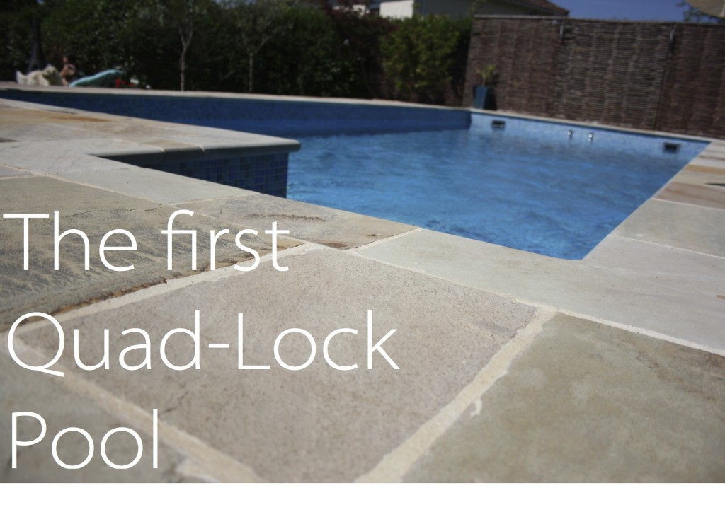 The first quadlock pool constructed by brookforge swimming for Icf pool construction