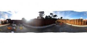 ICF pool walls being set out