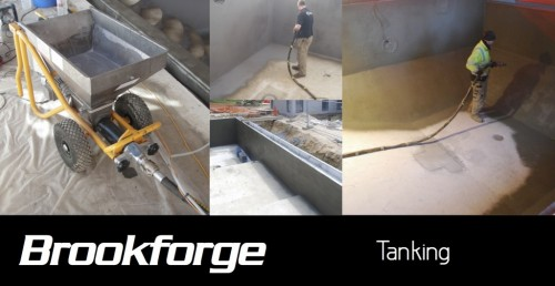 Brookforge swimming pool tanking