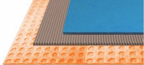 Decoupling Matting for swimming pools
