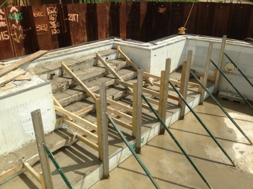 New Forest Steps Poured
