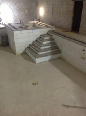 ICF Pool spa and steps