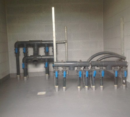 Pool Plant Room Manifolds