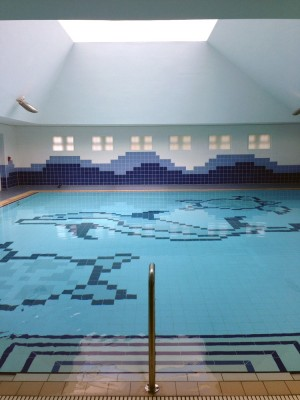 School Overflow Pool