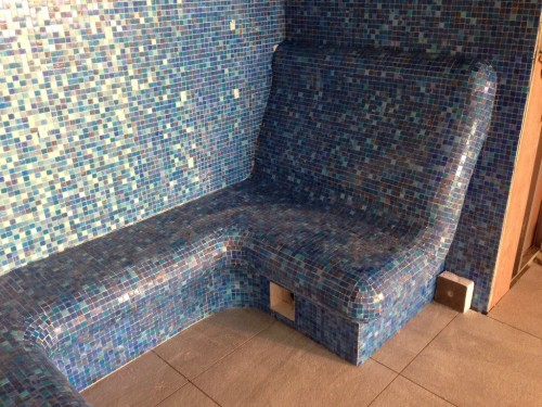 Tiled Steam Room
