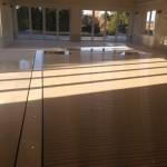 Slatted thermal pool cover