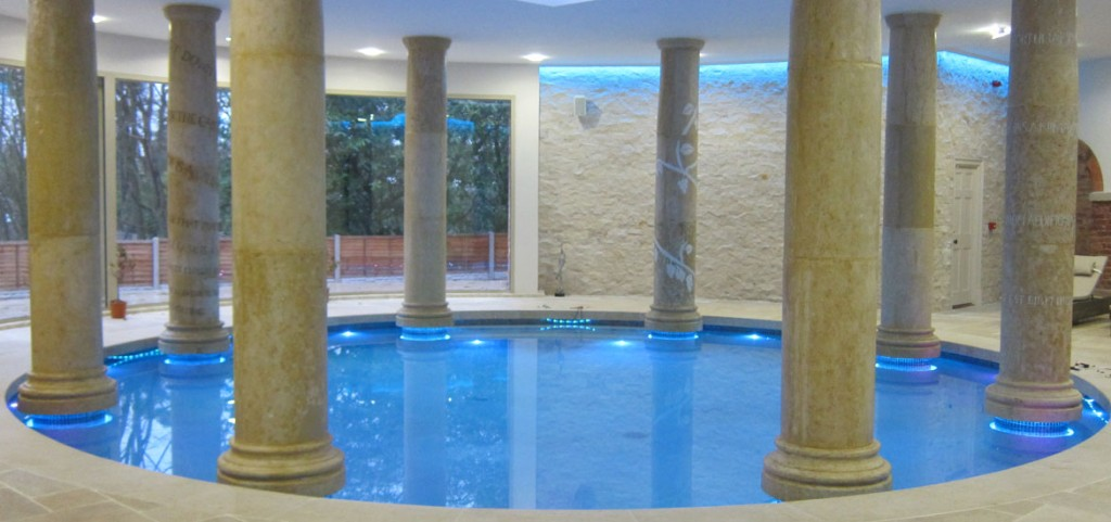 Roman Style Circular Bath Brookforge Swimming Pool Build