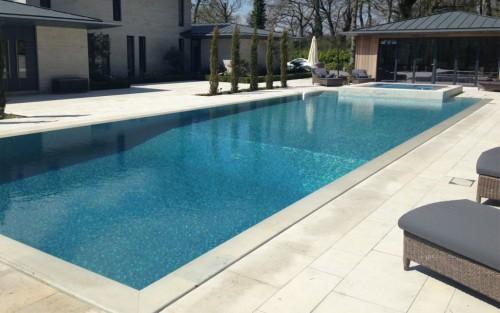 Deck Level Stone Pool