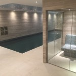 Poolside Steam Room