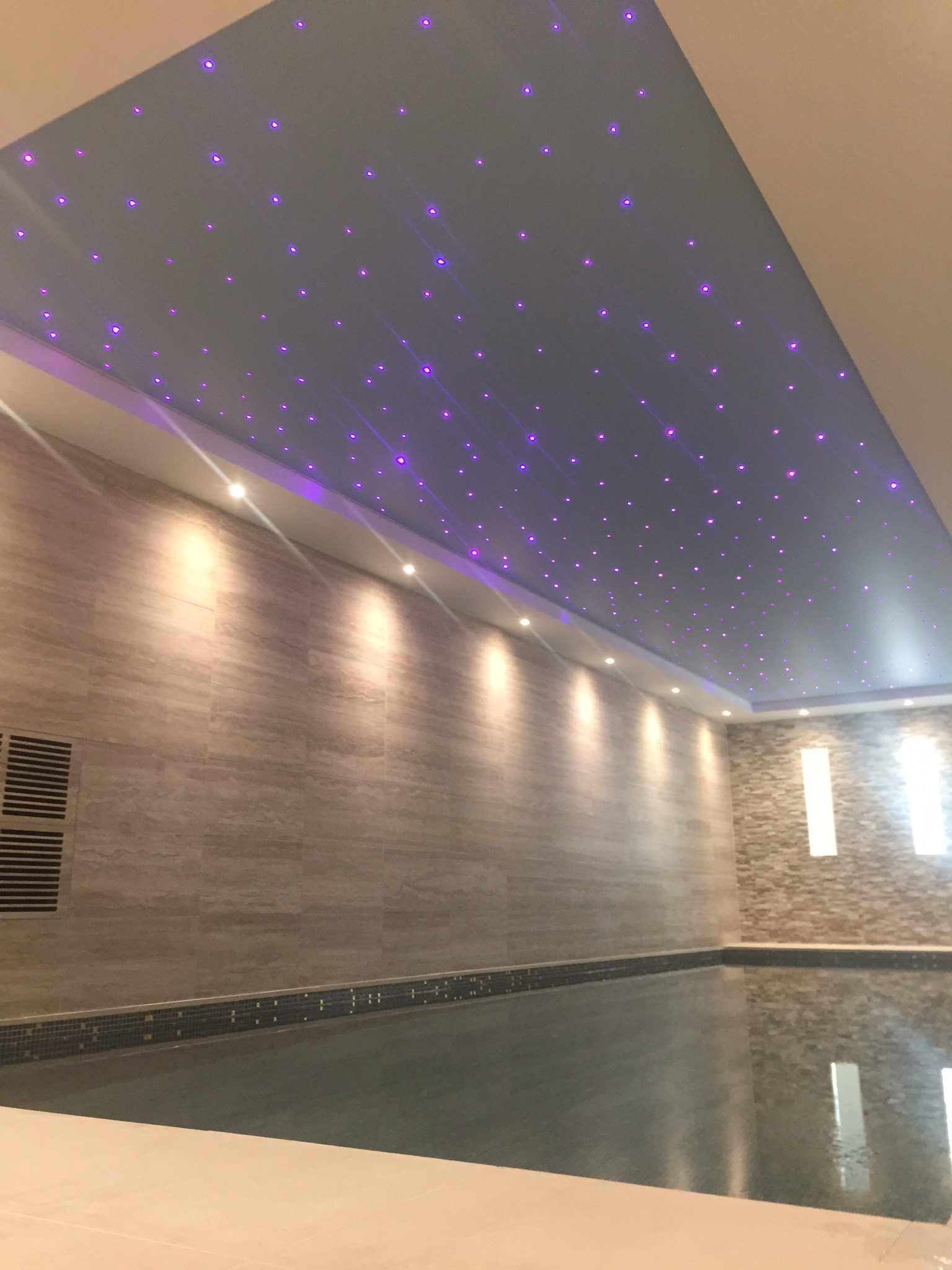 Wall Light For Steam Room : luxury Archives - Brookforge Swimming Pool Build