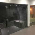 Steam Room and Sauna in Leisure Suite