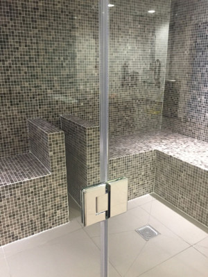 Glass Front Steam Room