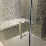 Glass Front Tiled Steam Room
