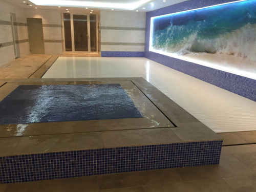 Basement Overflow Pool and Spa