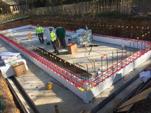Reinforced Pool Wall Horizontal Steels