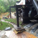 Pool concrete pump arrives