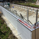 Swimming Pool ICF Shuttering Braced