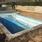 Swimming pool refurbishment before pic