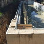 Concrete pump arrives onsite