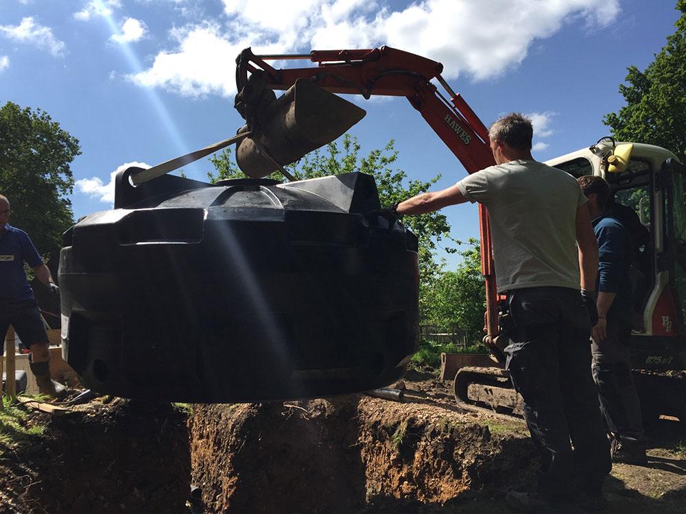 Installing Balance Tank Brookforge Swimming Pool Build