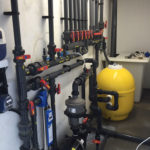 swimming pool plant room filtration systems