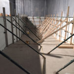 Pool wall bracing