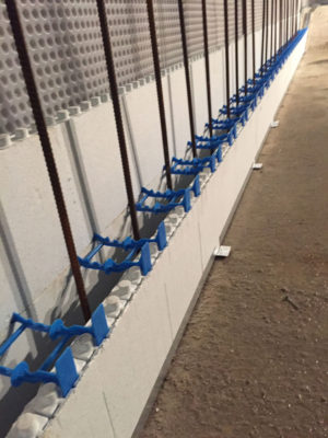 Quadlock Wall Steel Reinforcement