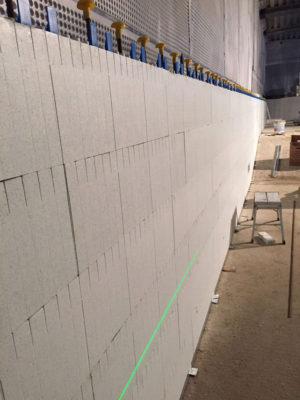 Quadlock wall