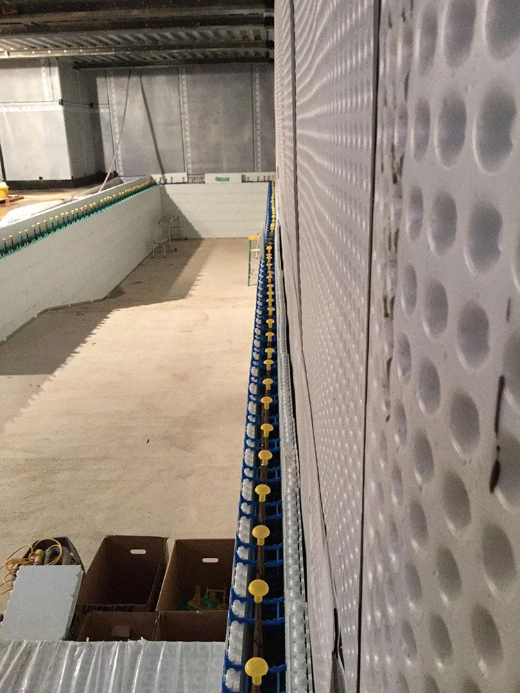 Swimming Pool Wall Construction : Swimming pool wall construction using quadlock
