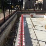 quadlock wall construction